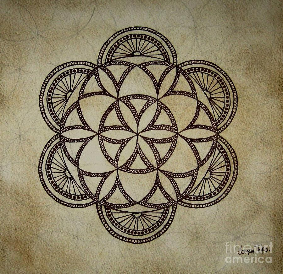 flower of life mandala with more detail tattoo it pinterest mandala flower and detail. Black Bedroom Furniture Sets. Home Design Ideas