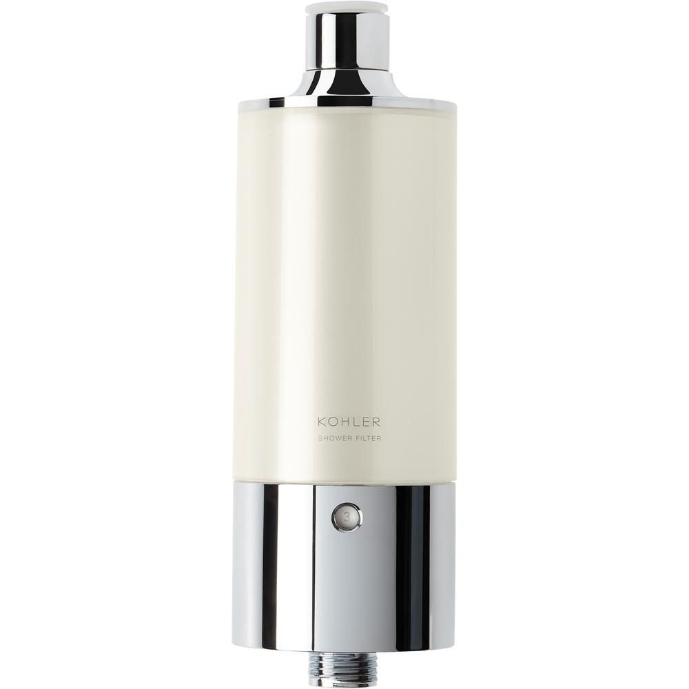 Kohler Aquifer Shower Replacement Water Filter Cartridge Grey