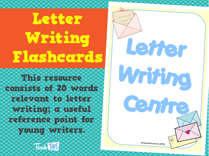 Letter Writing Flashcards | English | Pinterest | Homeschool and Teacher