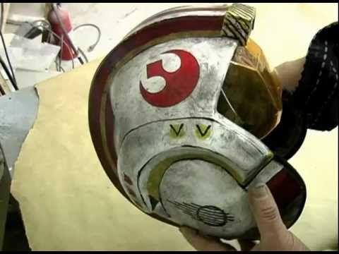X Wing Helmet Diy