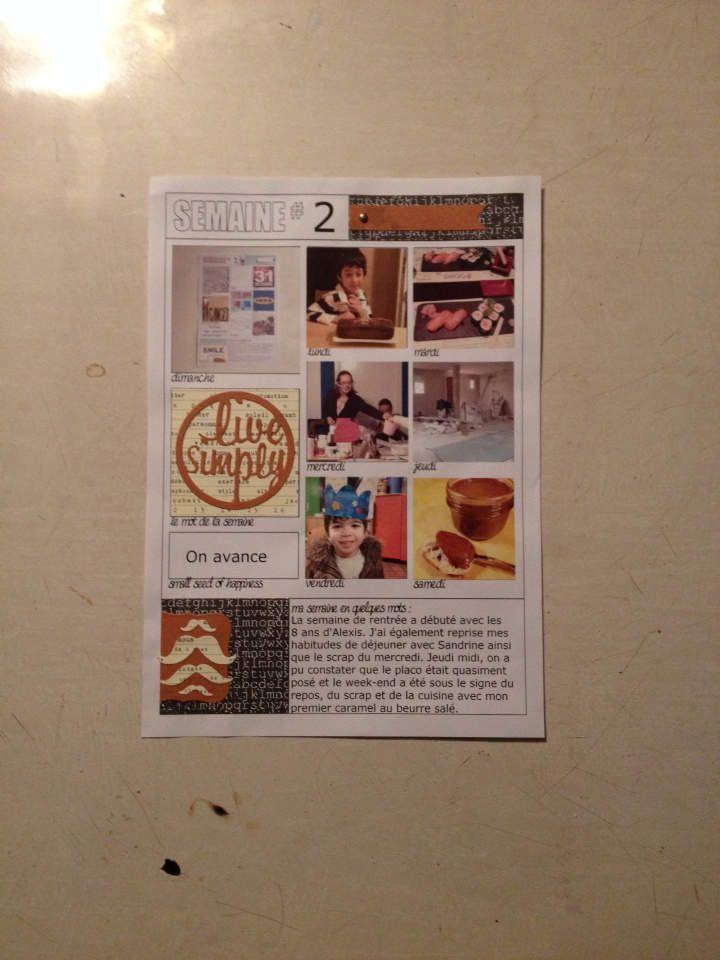 My Weekly 2014 - Semaine #02 - Les créations de Circée