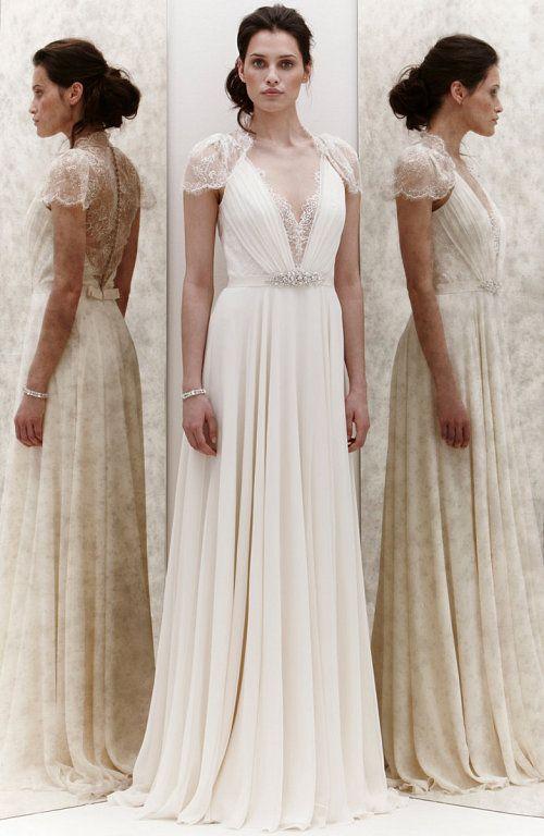vestidos de novia sencillos y románticos: ¡sueña despierta en tu