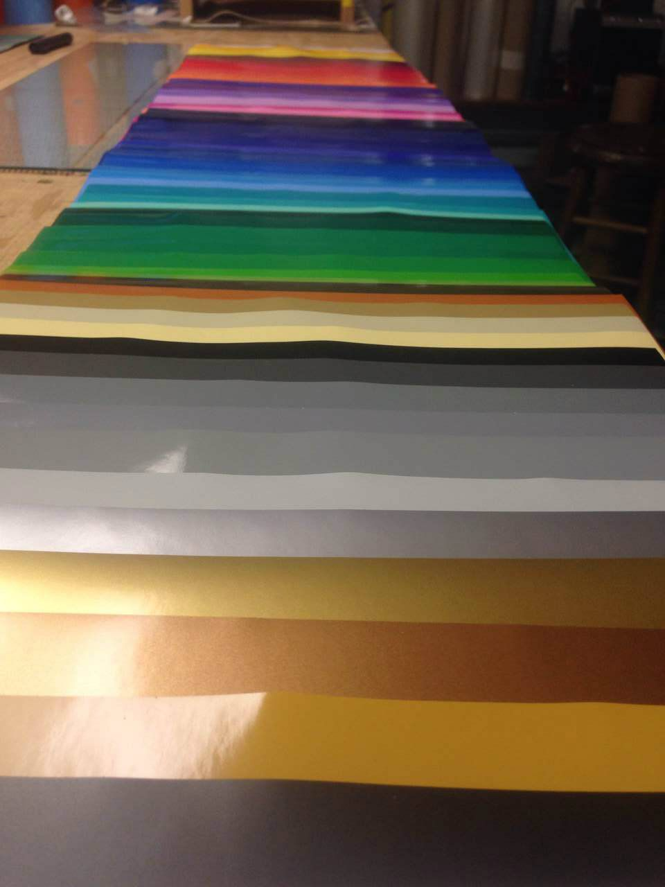 Pack of all 63 Oracal 651 colors - Ante Up Graphics