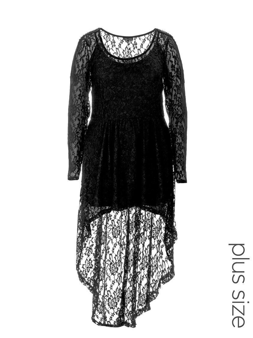 Longsleeve lace tunic black girlytops pinterest lace tunic