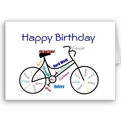 Funny Age Birthday Bike Cycling Sport Hobby Card Zazzle Com Birthday Captions Birthday Birthday Quotes