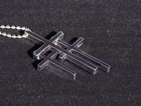 Large Calvary Three Cross By Saintmichaels On Etsy 45 00