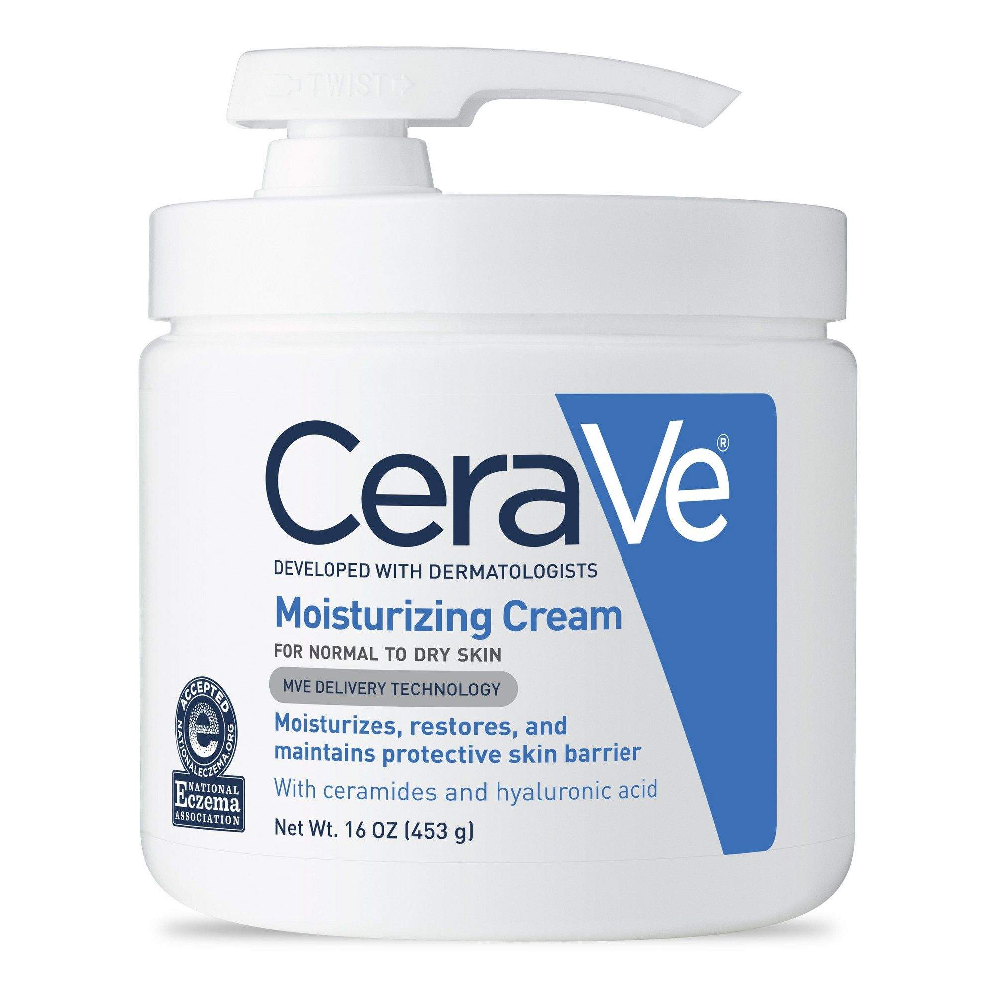 CeraVe Moisturizing Cream for Normal to Dry Skin 16oz