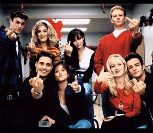 27dfe089 Beverly Hills 90210 HOW HAVE I NEVER SEEN THIS PICTURE | 90's <3 in ...