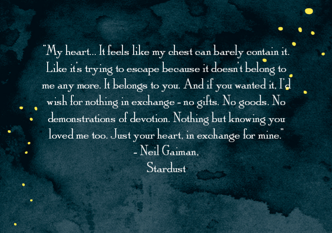 Neil Gaiman, Stardust • I understand this. This is my natural inclination—both to believe and do—but it's a lie. It doesn't work this way. People are flawed. People change. Fantasy…is not real. Only true love. God's love—and those who show it. Feelings change, no matter how impossible it seems. Commitment doesn't.