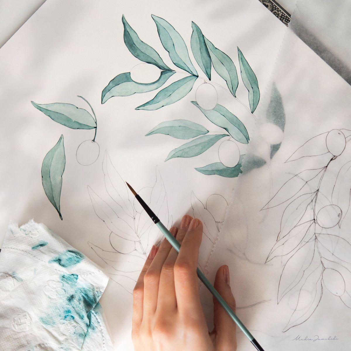 #watercolor #watercolorart