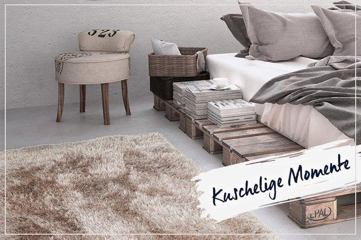 Schlafzimmer einrichten - Teppiche sorgen für Gemütlichkeit