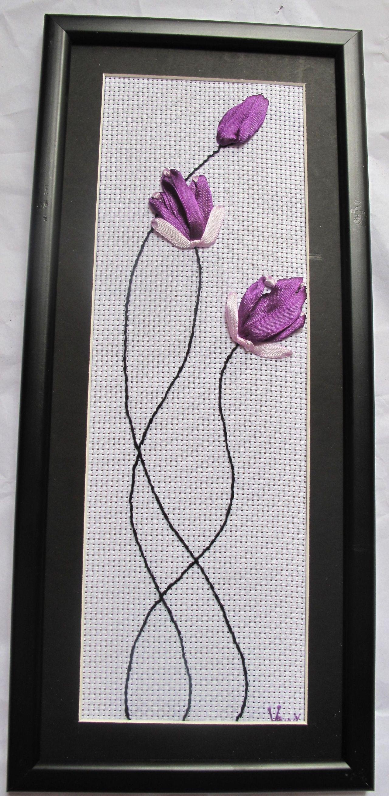 bimbim_bt Ribbon embroidery, Brazilian embroidery, Opera