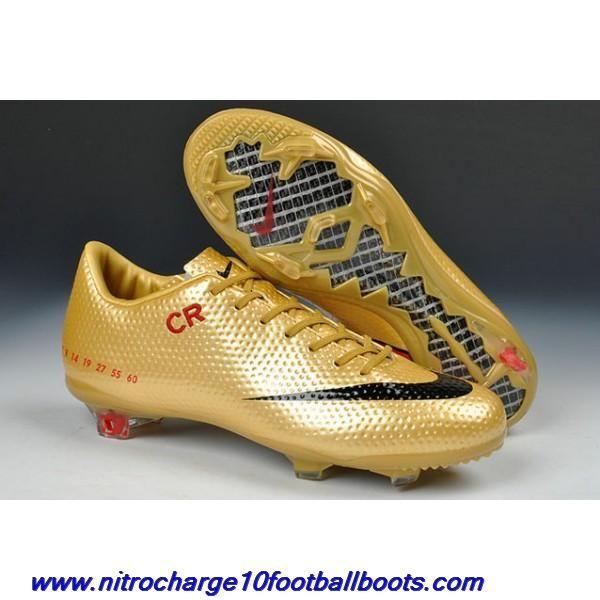 Cheap Golden Black Red Limited Edition Nike Mercurial Vapor IX CR SE FG  Football Boots a544729abdc