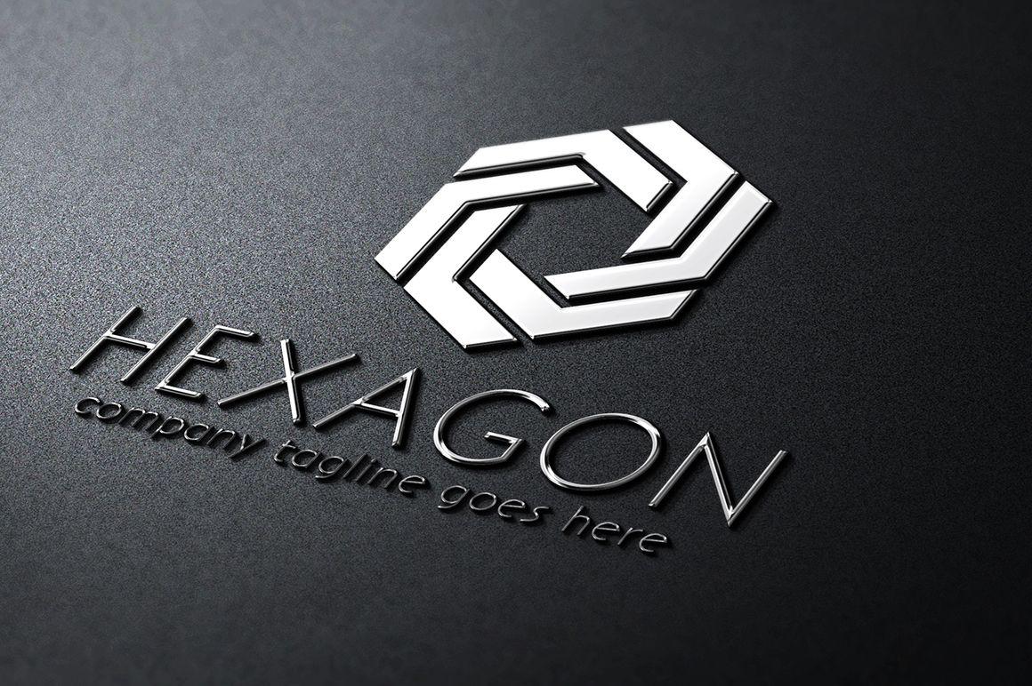 Hexagon Logo by samedia on Creative Market | Ideas for the House ...