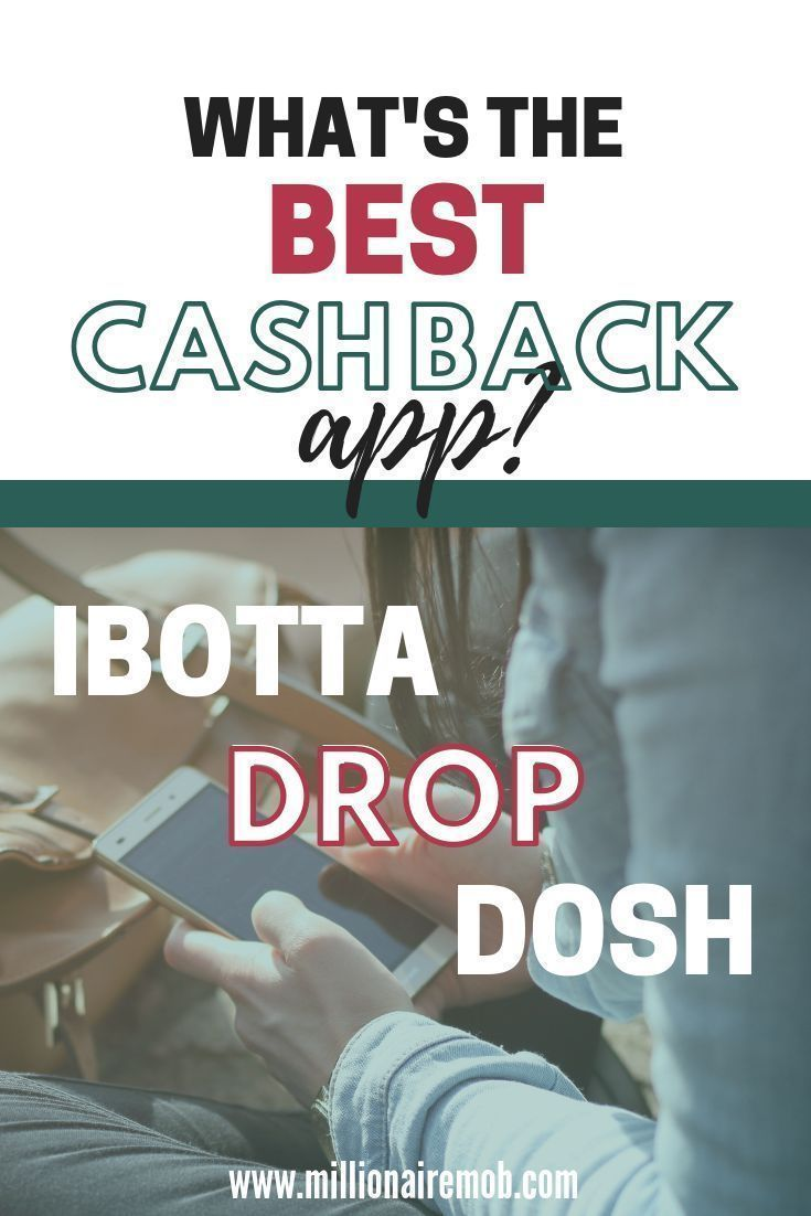 Best Cashback Apps Drop vs Ibotta vs Dosh Rebate apps