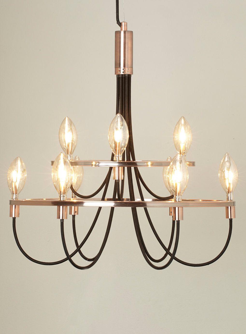 Photo 1 of Frederica candelabra in copper | Luminaires | Pinterest