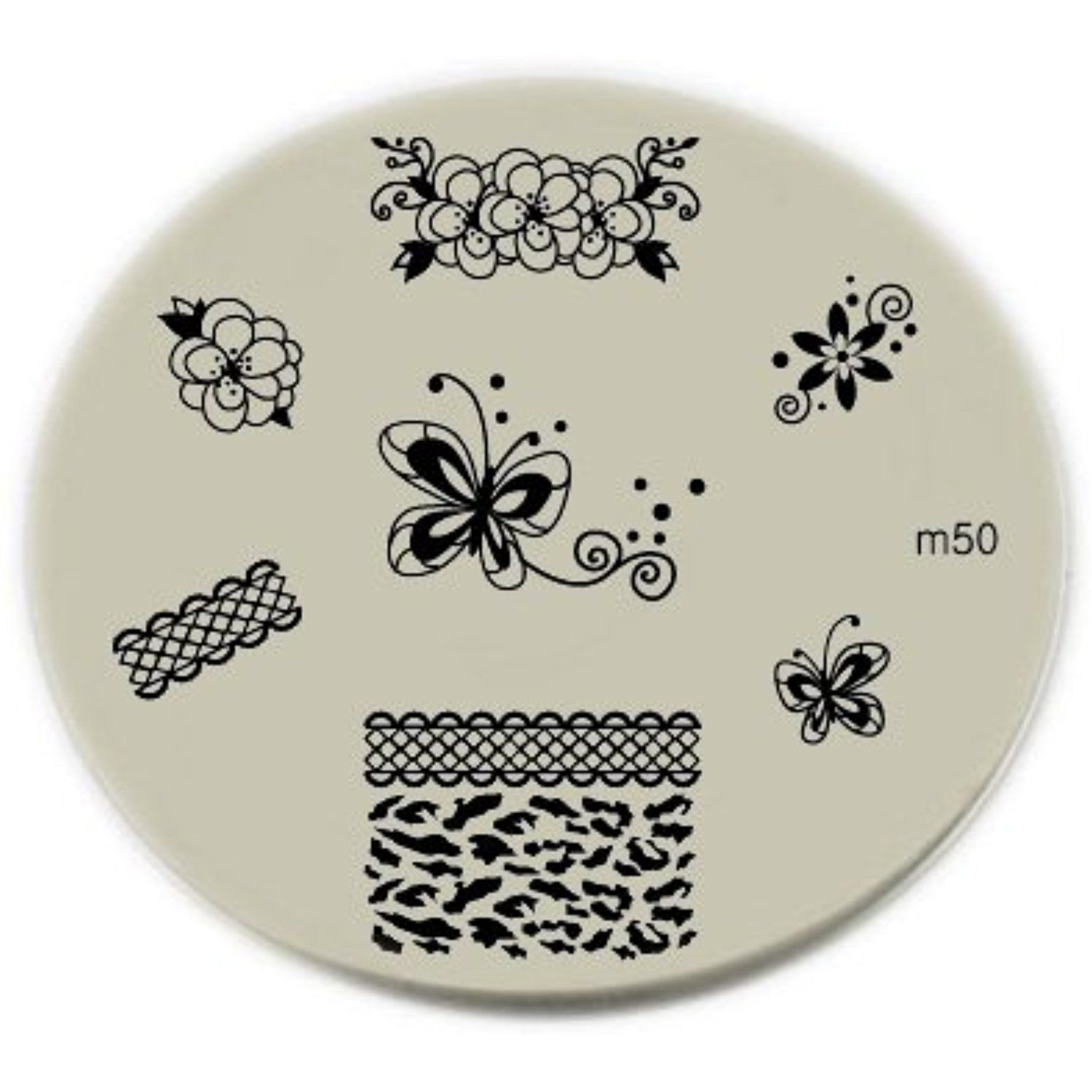 Konad Stamping Nail Art Image Plate M50 by Konad * You can find more ...