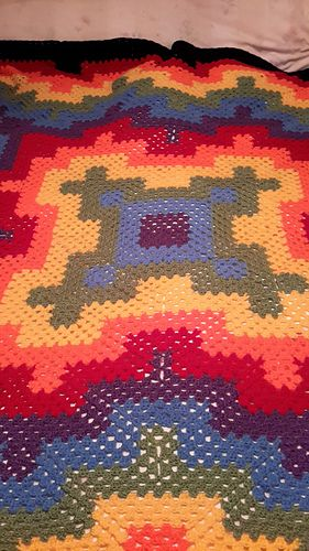 http://www.ravelry.com/projects/fairydust/fireworks-blanket