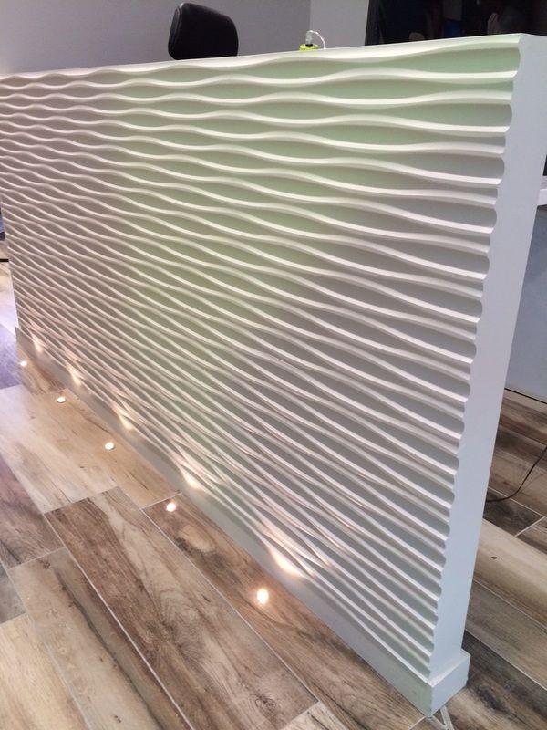 panneaux mdf 3d chez marble pattern. Black Bedroom Furniture Sets. Home Design Ideas