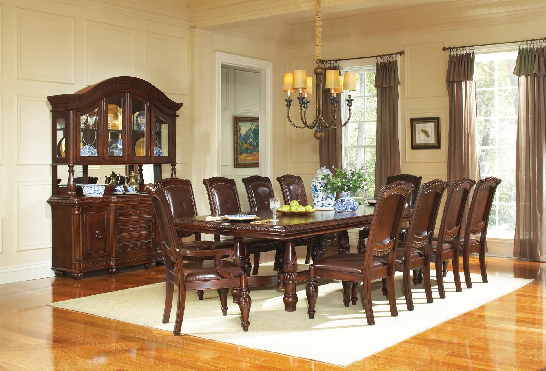 Dining Room Sets Leather Chairs Magnificent Pinalyssa Ernst On Dining Room  Pinterest  Dining And Room Inspiration Design