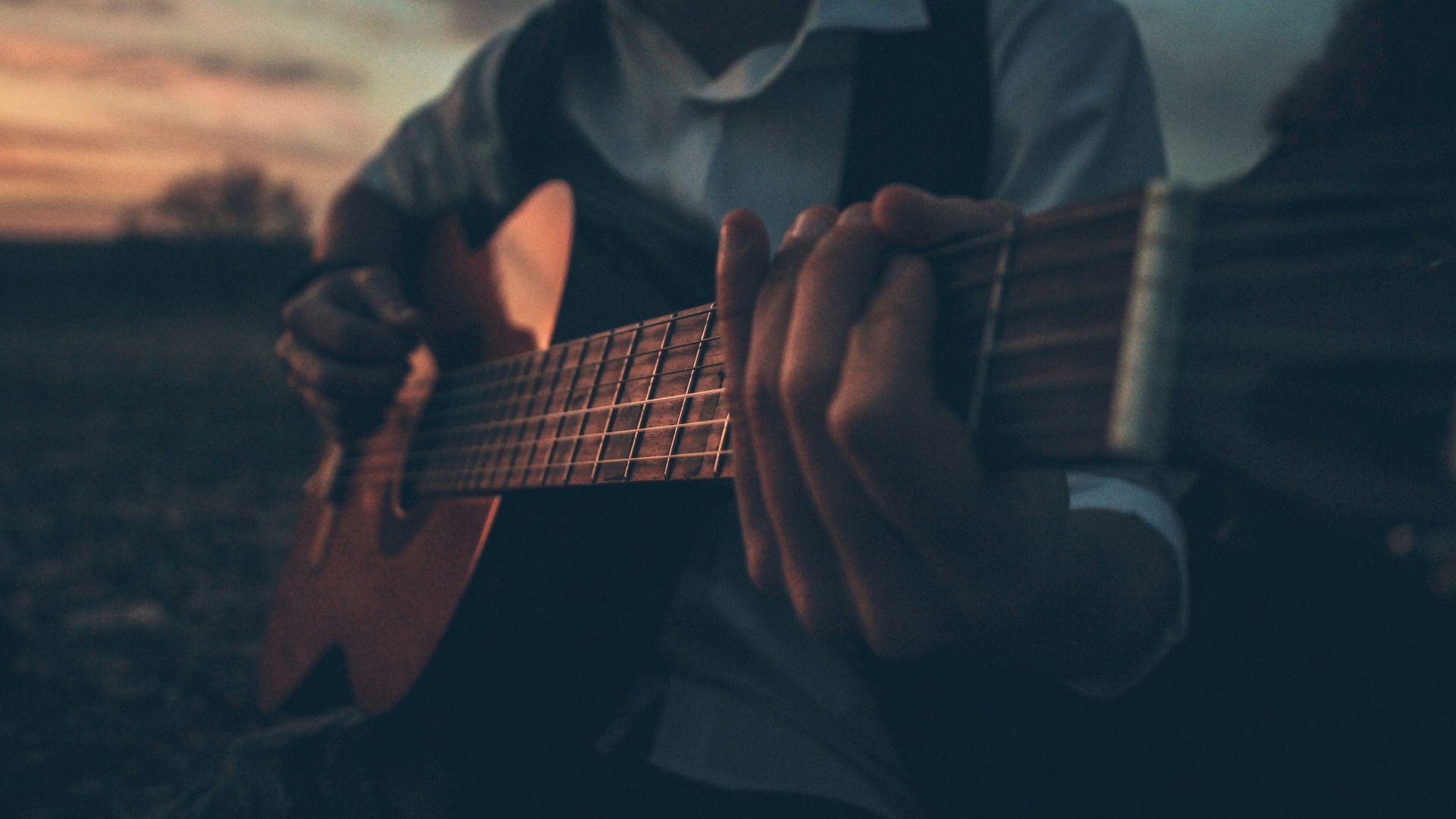 In Guitar Guitar Photography