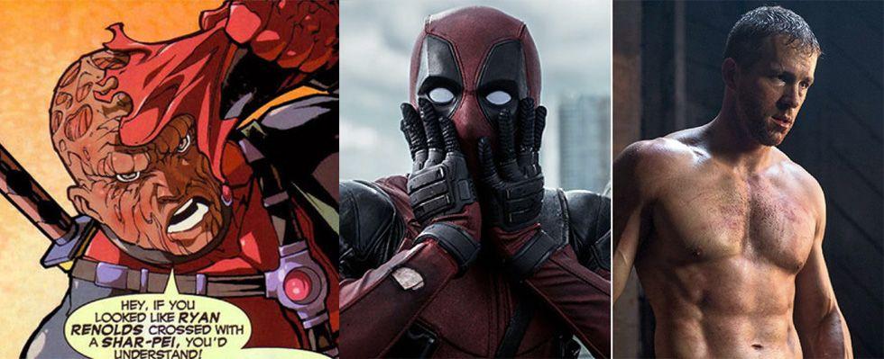 Ryan Reynolds Crossed With A Shar Pei Deadpool Pinterest