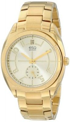 6c219eb0f38 Relógio ESQ Movado Women s 07101401 esq ORIGIN tm Tonneau-Shaped  Gold-Plated Watch  Relógio  ESQ
