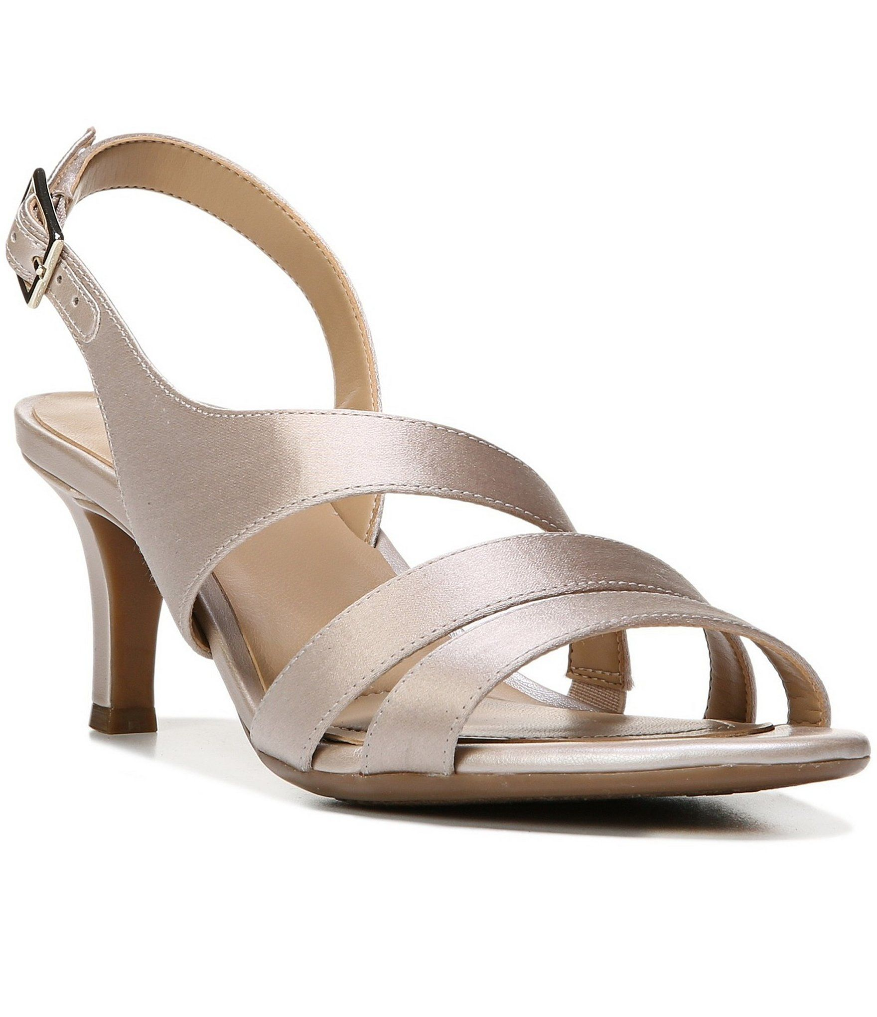 e025c2360dbf Shop for Naturalizer Taimi Metallic Fabric Slingback Dress Sandals at  Dillards.com. Visit Dillards.com to find clothing
