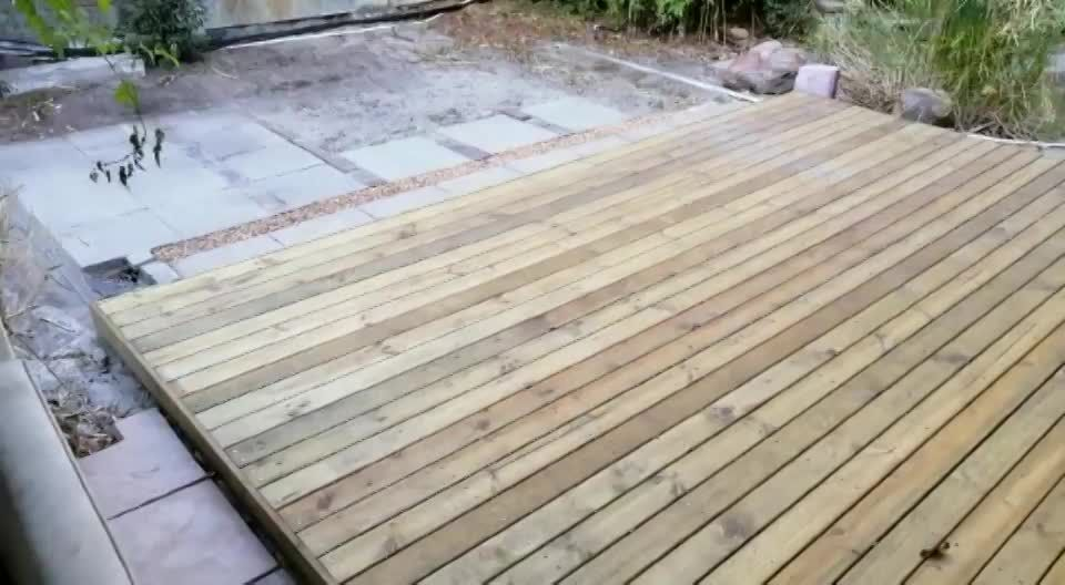 I Made A Sliding Deck Over My Tiny Pool Lots Of Pics Handmade Crafts Howto Diy Deck Over Pool Cover Pool Decks