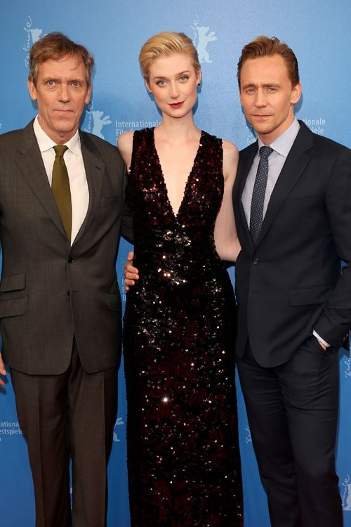 Hugh Laurie, Elizabeth Debicki and Tom Hiddleston attend the The Night Manager premiere during the 66th Berlinale International Film Festival Berlin at Haus der Berlinale on February 18, 2016 in Berlin, Germany. Full size image: http://ww2.sinaimg.cn/large/6e14d388gw1f142rvqhplj22fk3nc1l0.jpg Source: Torrilla, Weibo