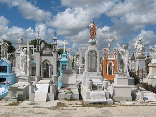 Mexican cementery