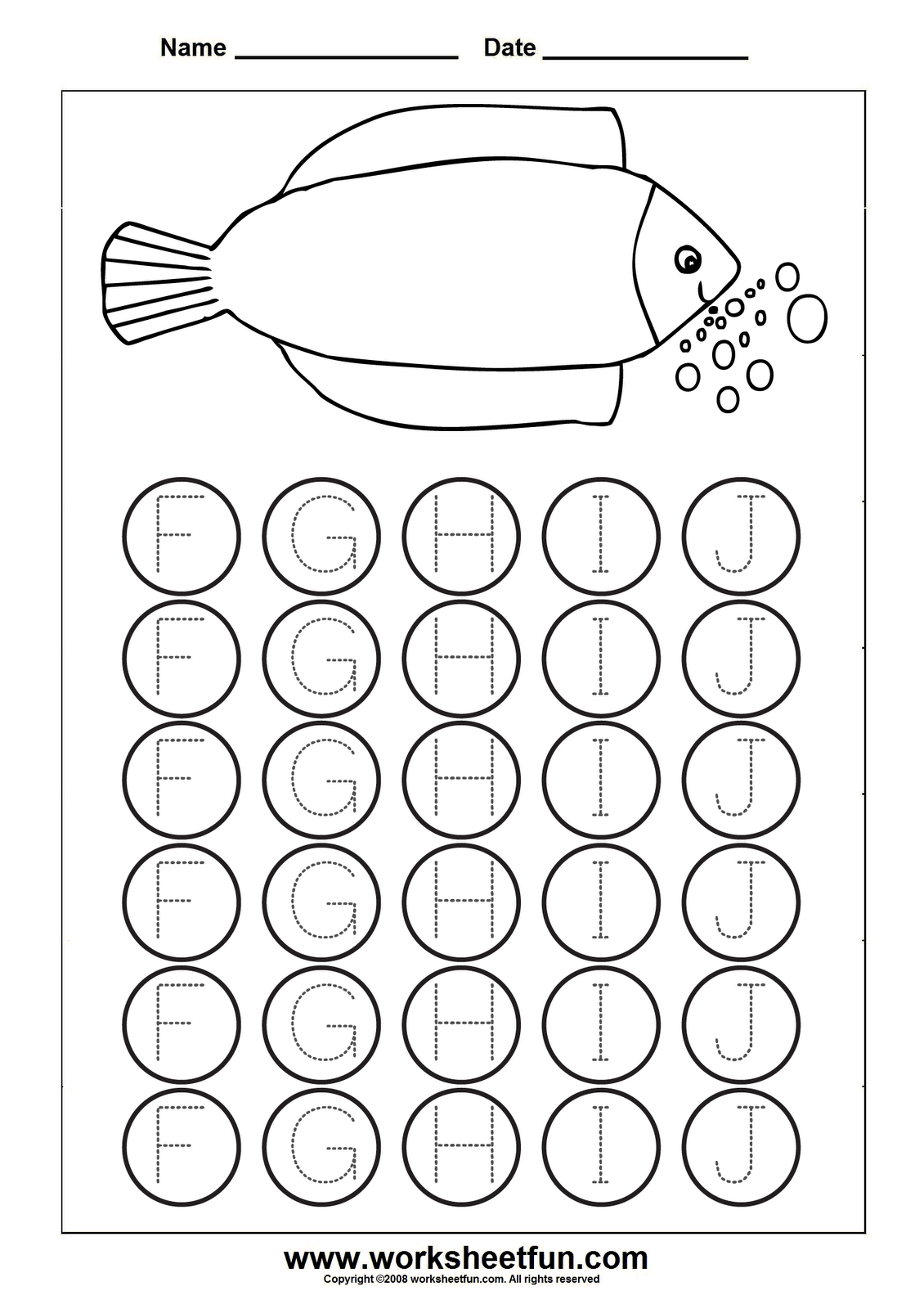 Easter Preschool Worksheet Number 8