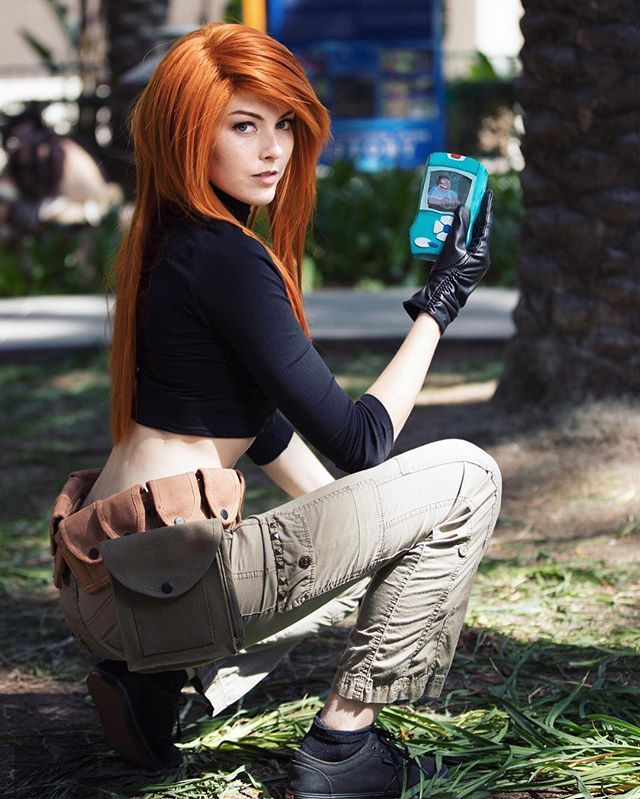 Kim Possible cosplay by Kyra Marie
