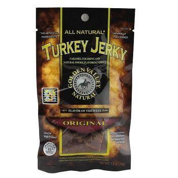 Golden Valley Turkey Jerky Original (48x1Oz)