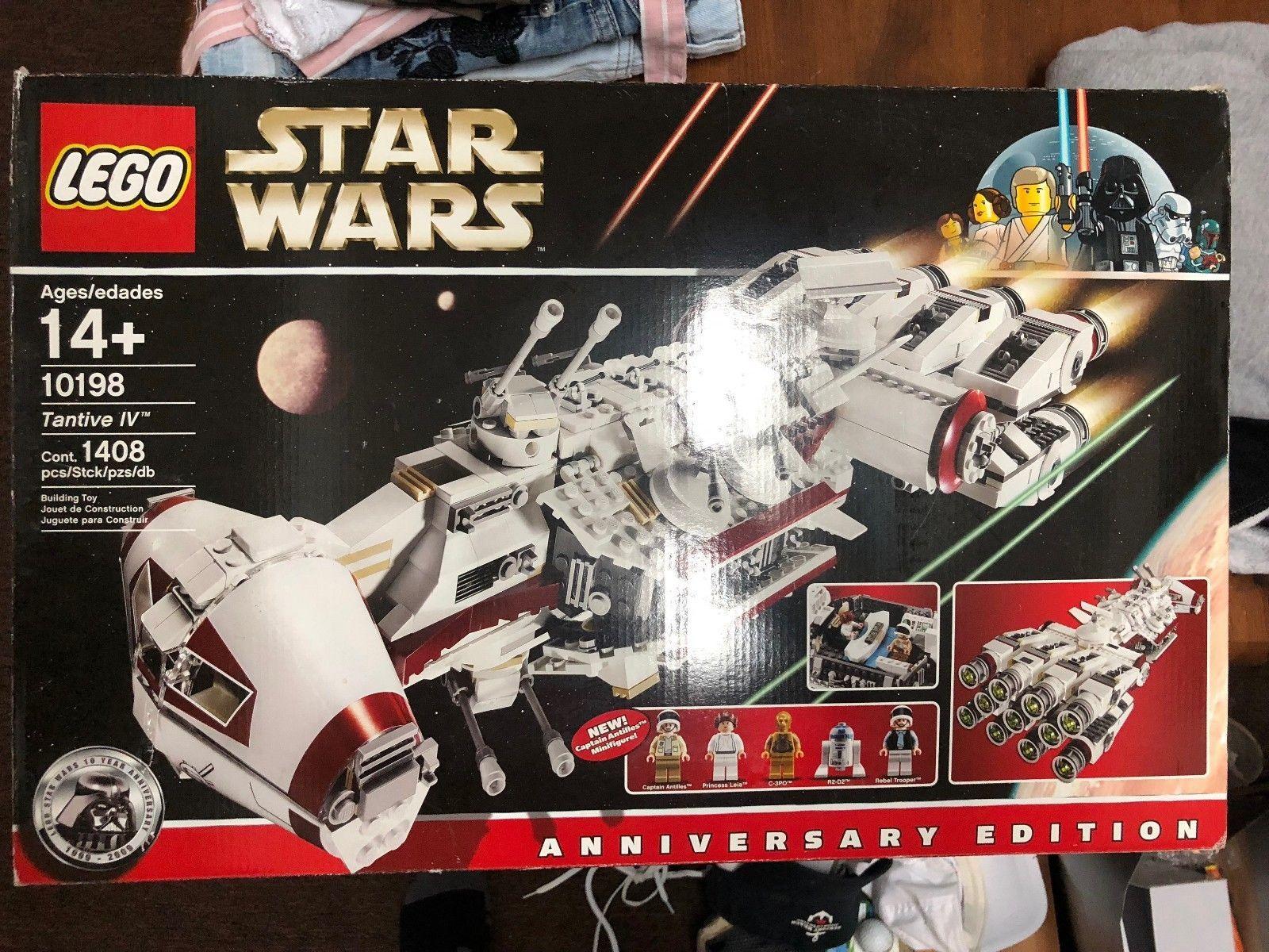 10198 Lego Star Wars New Factory Sealed Tantive Iv 1408 Pcs Retired Rare Lego Star Wars Lego Star Wars Sets Lego War