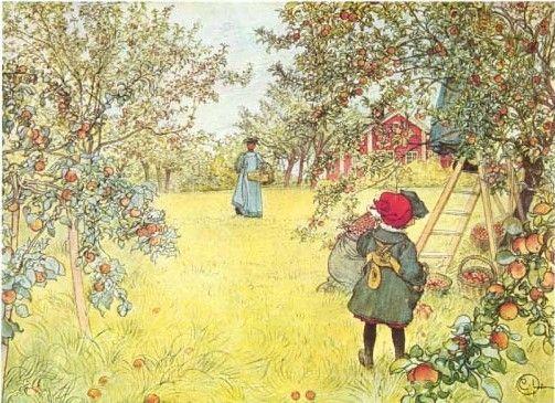 Carl Larssons Sundborn In Dalarna Famous Swedish Artist His Carl Larsson Farm Paintings Painting