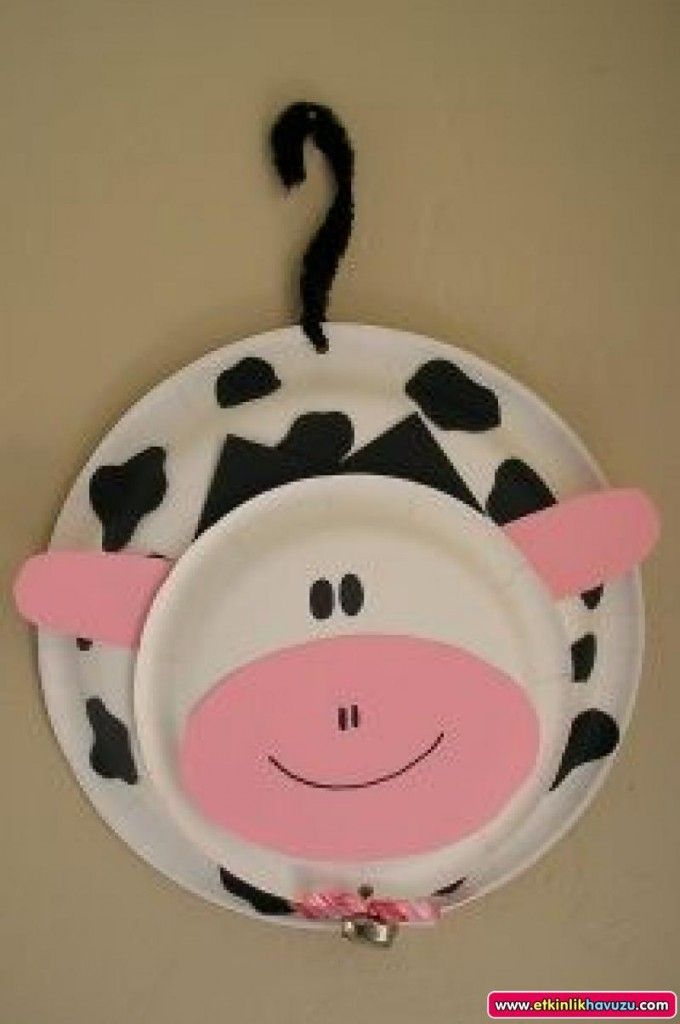 paper plate cow craft for kids & paper plate cow craft for kids | Cowabunga-VBS | Pinterest | Cow ...
