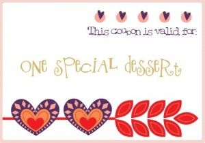 The Twinery ValentineS Day Coupon Book  Love    Coupons