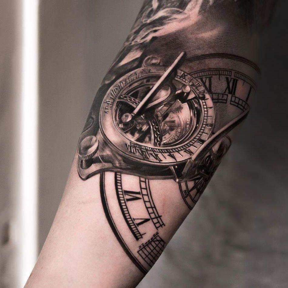 Tatuajes De Relojes Para Simbolizar El Tiempo Art Tattoos