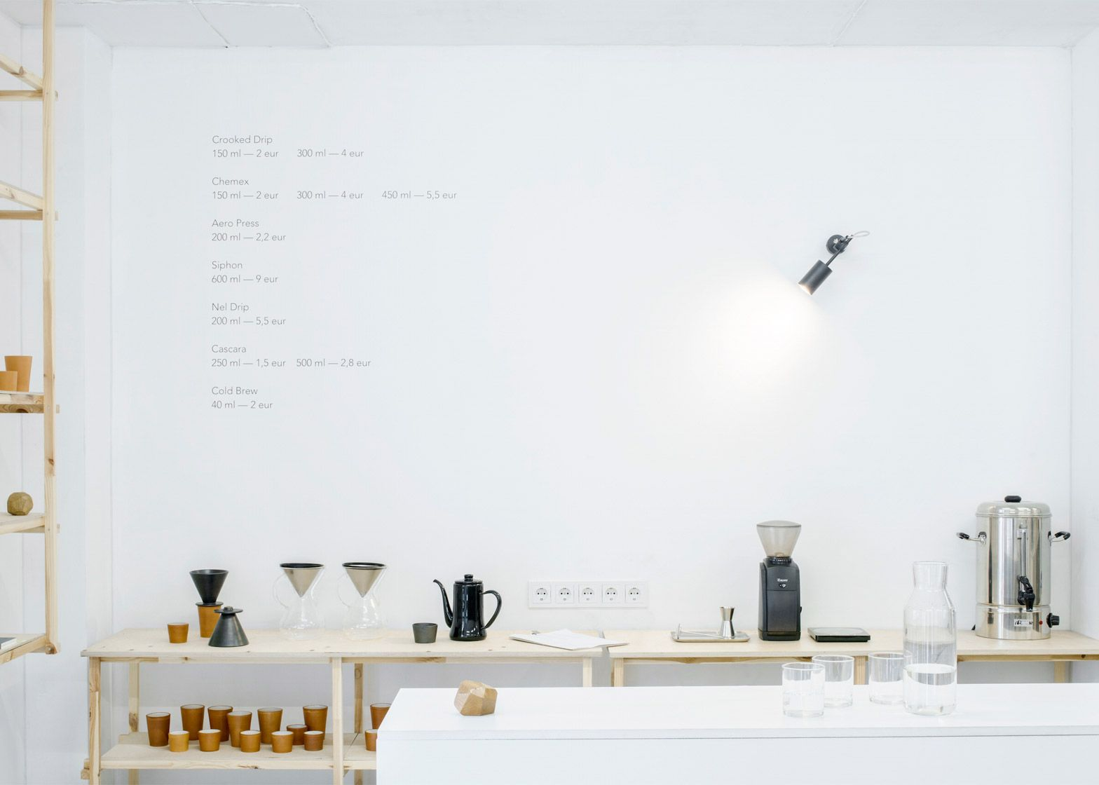 Crooked nose & coffee stories store design. pinterest koffie