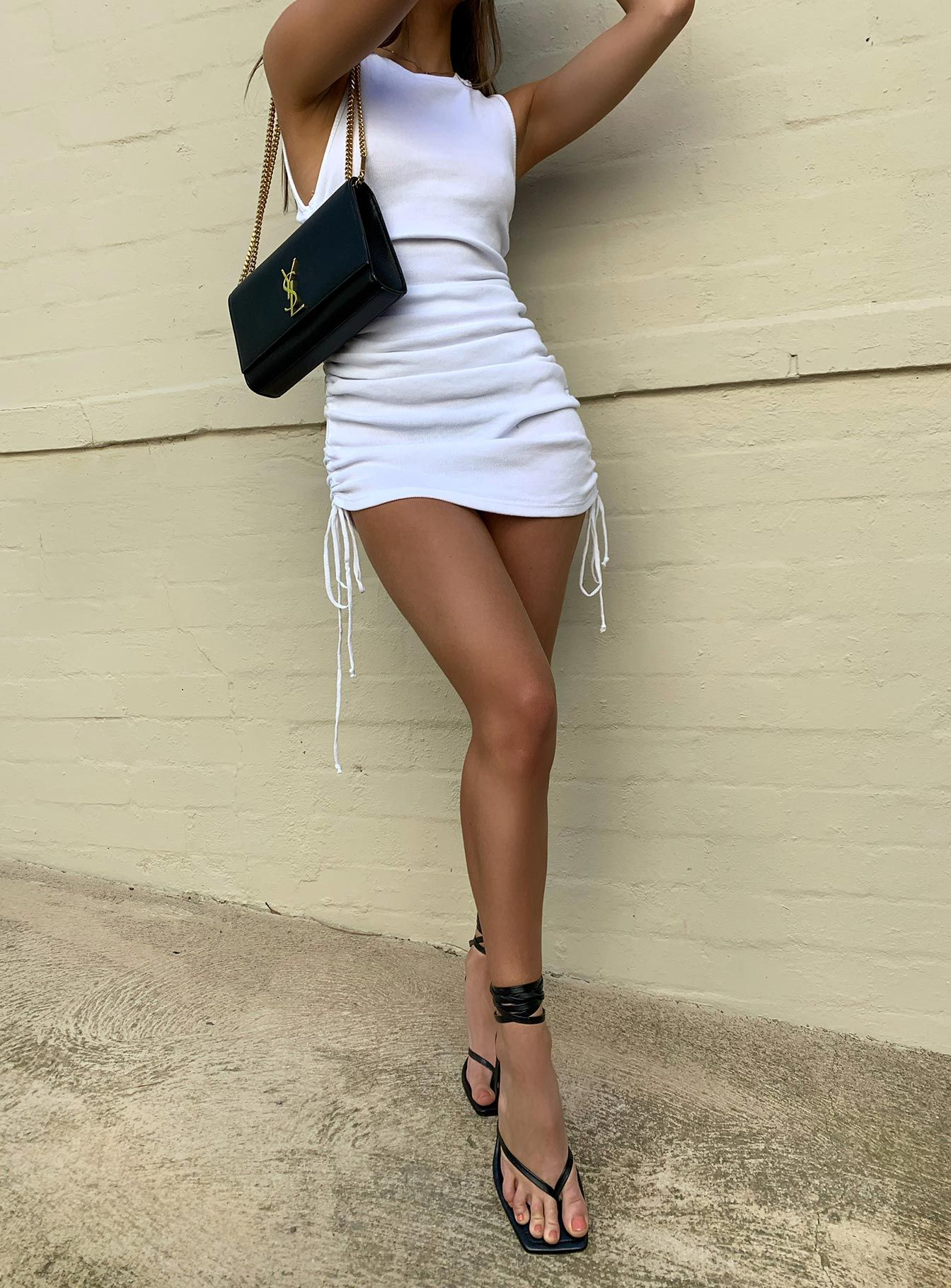 Military Minds Mini Dress White - US 6 / White