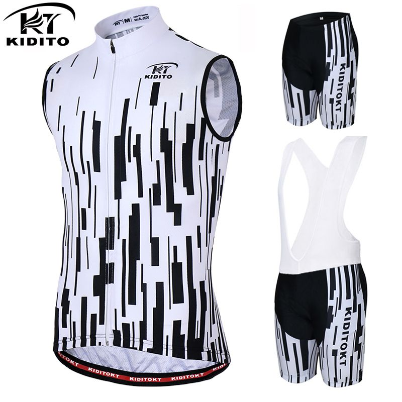 KIDITOKT Bevery Sleeveless Breathable Cycling Jersey Summer Racing Bicycle  Clothing Ropa Maillot Ciclismo MTB Bike Vests 0d3139903