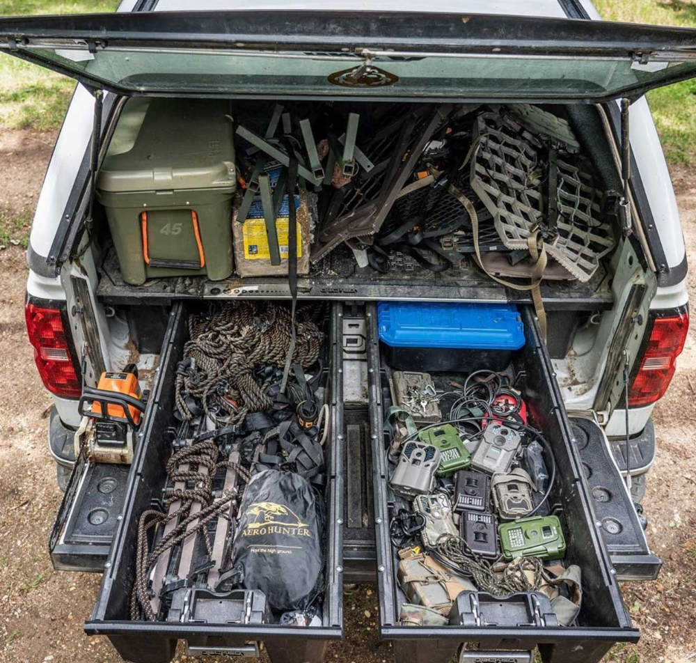 What Constitutes The Ultimate Hunt Rig? Truck bed