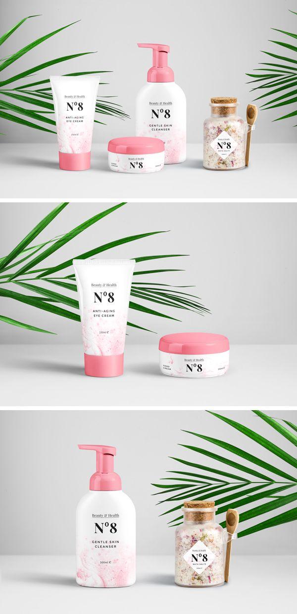 Download Free Cosmetics Packaging Psd Mockup Download Cosmetics Mockup Cosmetic Packaging Packaging Mockup