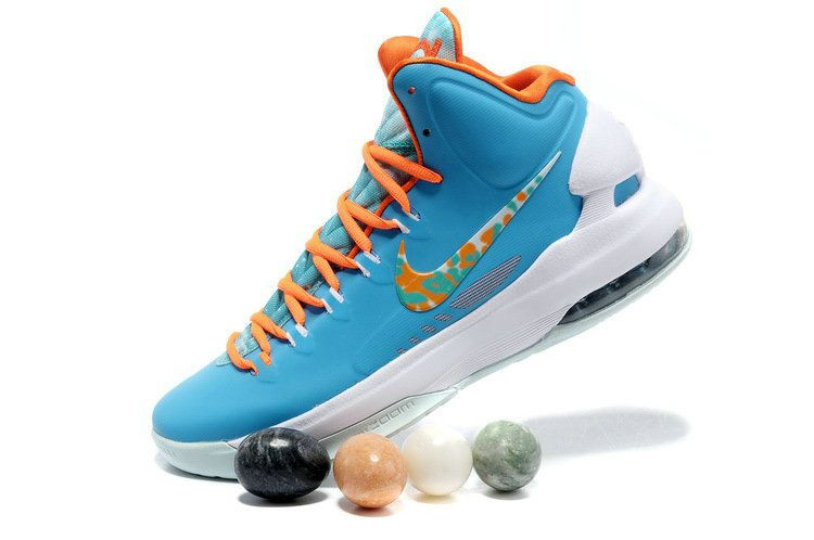edee2f5b1aae Free Shipping Only 69  Nike KD V Easter Turquoise Blue Bright Citrus  Fiberglass 554988 402 and Easter Eggs