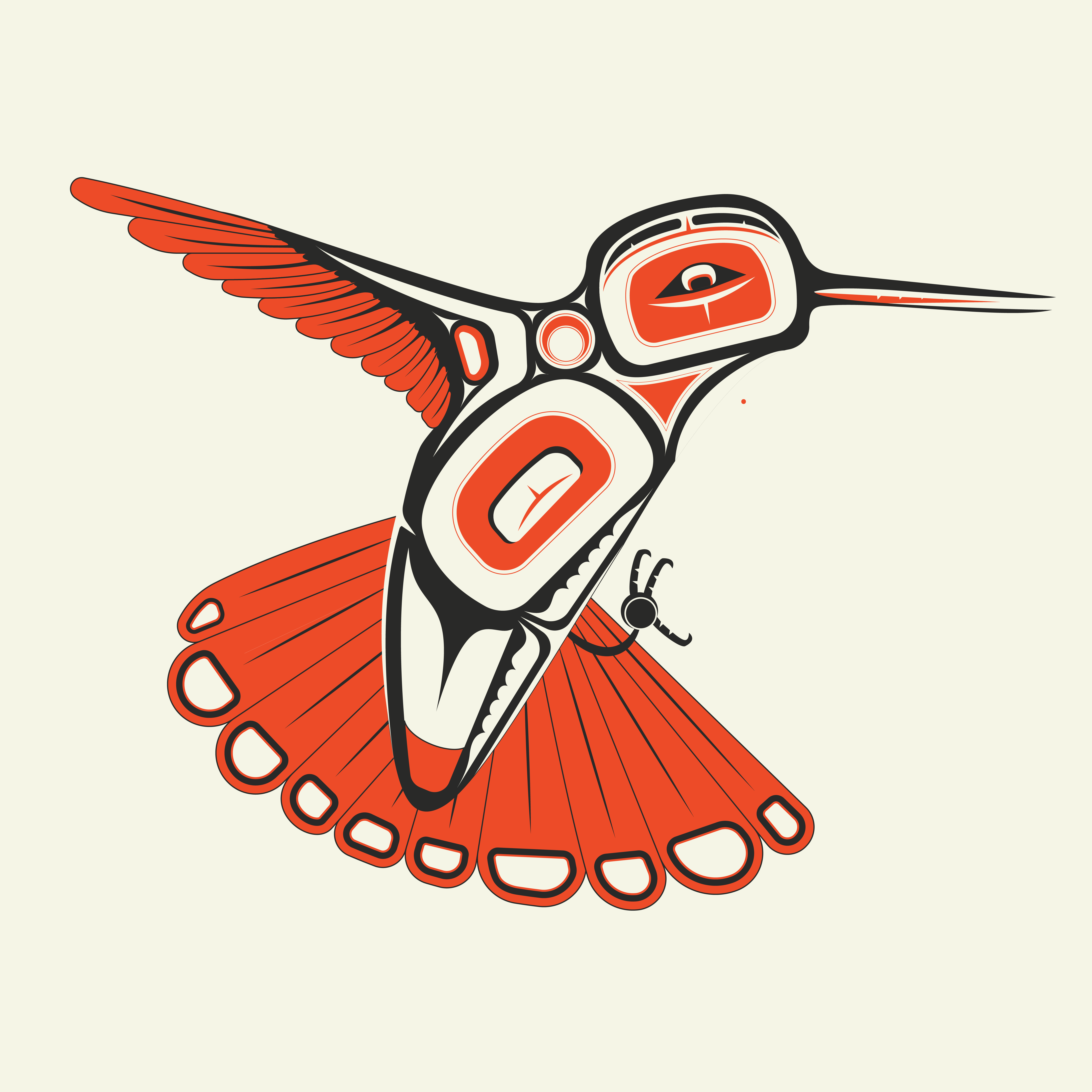Formline hummingbird personal art work pinterest hummingbird formline hummingbird biocorpaavc Gallery