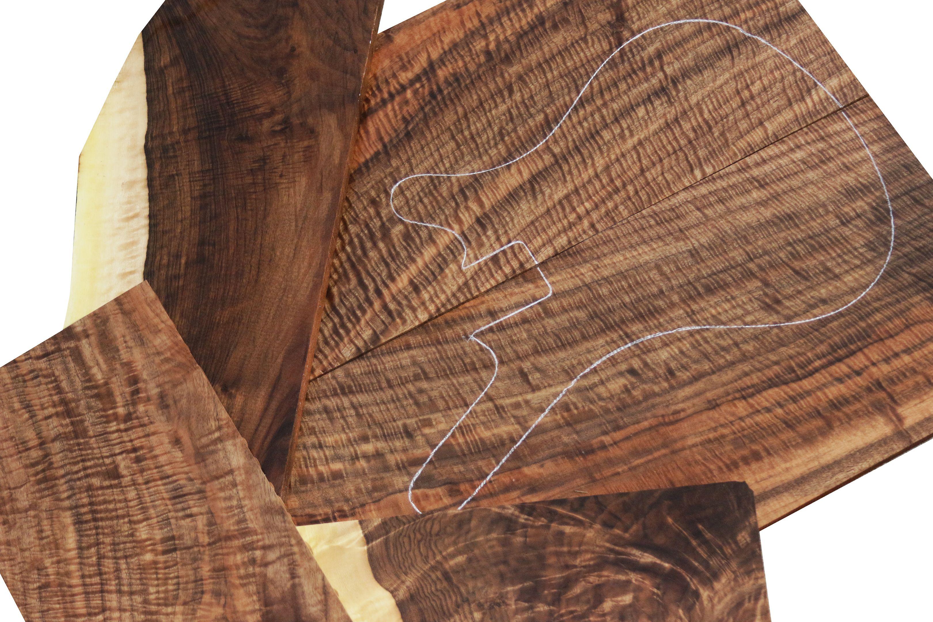 Bastogne Walnut Beautiful Wood Easy Woodworking Projects Woodworking