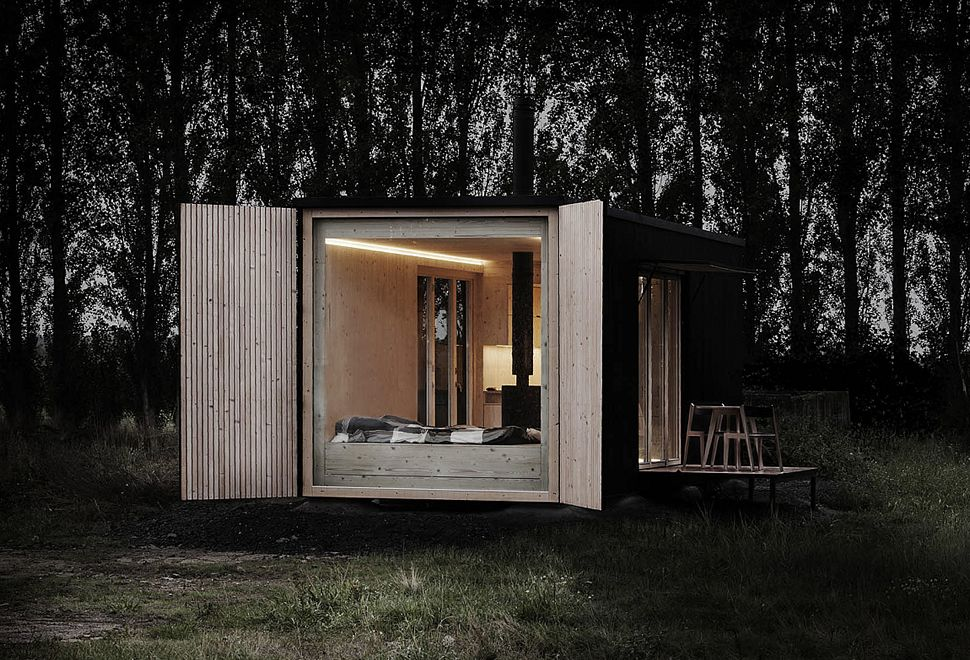 ARK Shelter. Off Grid CabinArchitecture ...
