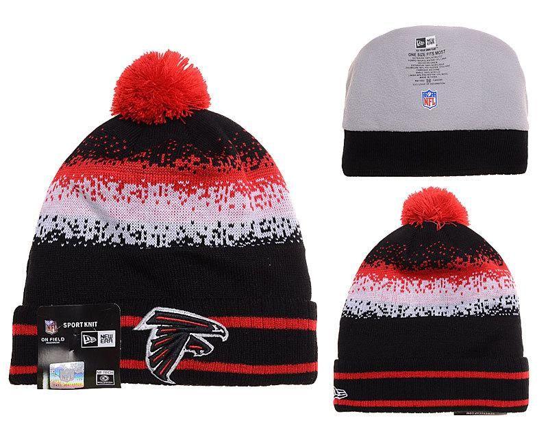 Mens   Womens Atlanta Falcons New Era 2016 Winter Warm NFL Team Colors Spec  Blend Knit 45cd58cff