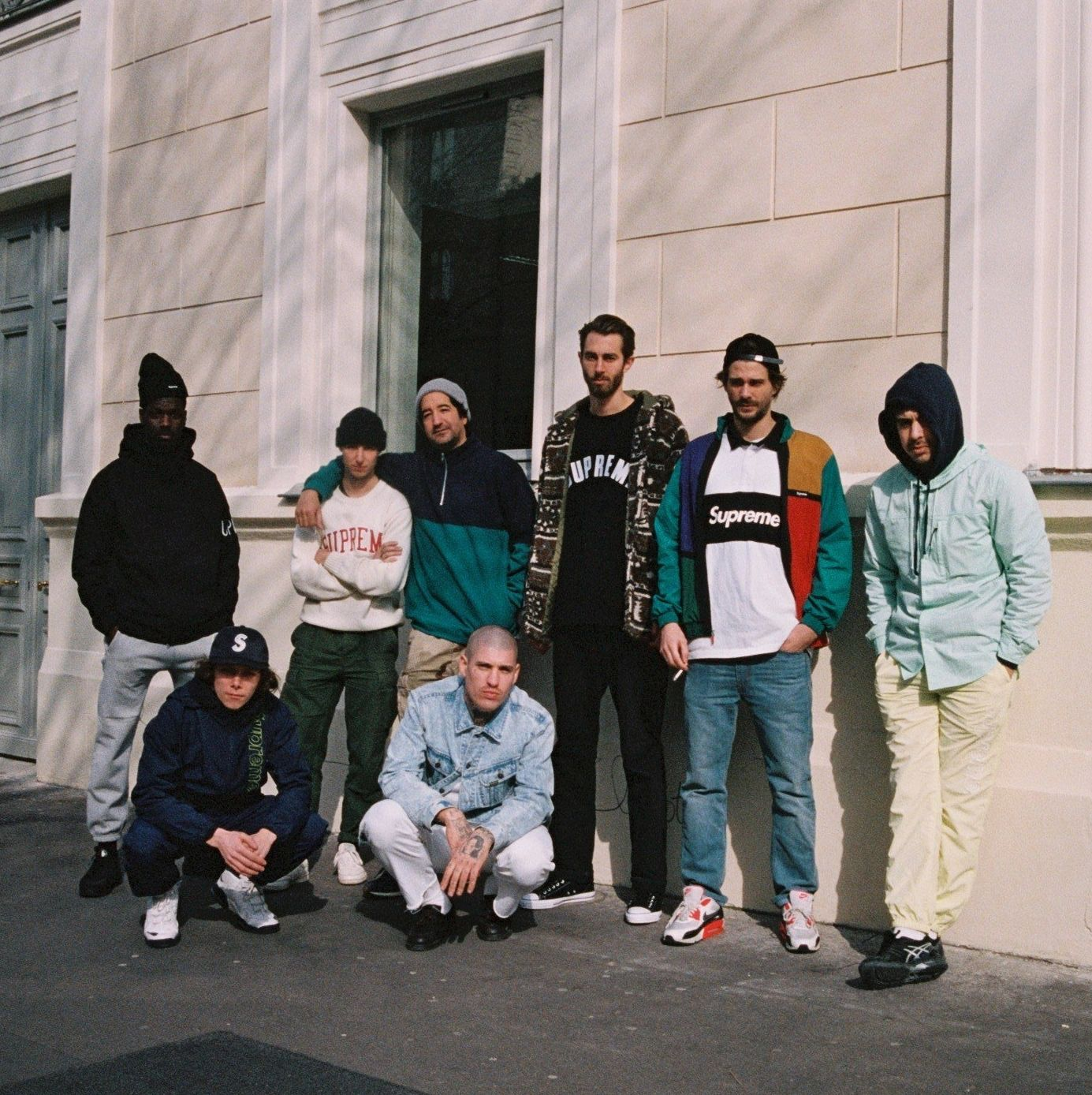 As Supreme arrive in Paris, we get to know the city's homegrown skate stars and boys of the store.